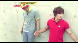 110828 Running Man E58 [Screencaps] Kim Jong Kook - Two of Us