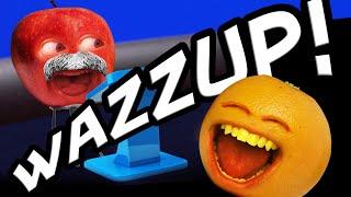 The Annoying Orange - Wazzup Challenge!!!