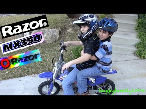 Robert-Andre's Razor The Dirt Rocket MX 350 Electric Motocross Bike!  - Electric Motorcycle!