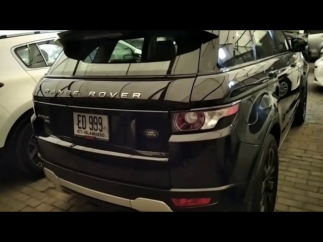 Range Rover Evoque Prestige 2012 for Sale in Lahore