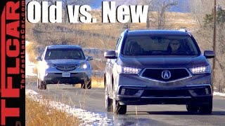 Old vs New: 2017 Acura MDX vs 2007 Acura MDX 0-60 MPH Mashup Review