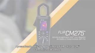 Multímetro Industrial de Imagens Térmicas FLIR DM285 com IGMTM