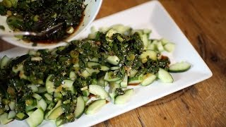 Chef Ian Knauer Recipe – Korean Inspired Cucumber Salad