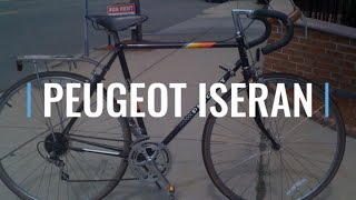 Peugeot Iseran French Vintage Steel Road Bike Early 80s