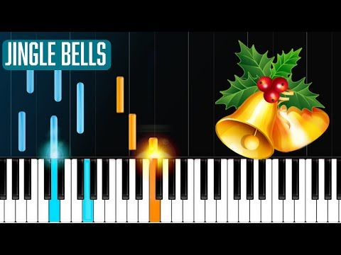 """Jingle Bells"" Piano Tutorial - Chords - How To Play - Cover"