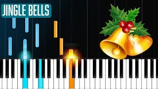 """""""Jingle Bells"""" Piano Tutorial - Chords - How To Play - Cover"""