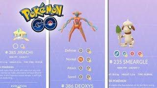 Smeargle  - (Pokémon) - ¡NUEVOS POKÉMON AÑADIDOS en el CÓDIGO de Pokémon GO! SMEARGLE, JIRACHI, DEOXYS y más! [Keibron]