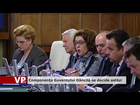 Componenţa Guvernului Dăncilă se decide astăzi.