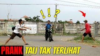 PRANK TALI TAK TERLIHAT | Prank Indonesia