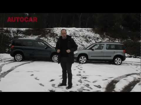 Winter tyres vs 4×4 – snow tyre test – autocar.co.uk