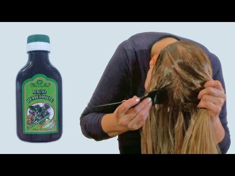 Маска для Волос в Домашних Условиях с Репейным Маслом, Медом, Желтком, Луком Видео урок
