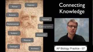 AP Biology Practice 7 - Connecting Knowledge