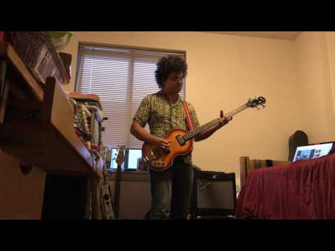 Golden Earring - Sleepwalking Bass cover