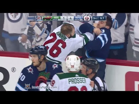 Brandon Tanev vs. Daniel Winnik