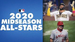 2020 Midseason MLB All-Stars (Fernando Tatis Jr., Mike Trout, Mookie Betts and more!)