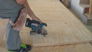 Plywood Subfloor Leveling With Plywood Sheets: How To Raised The Level Of The Floor