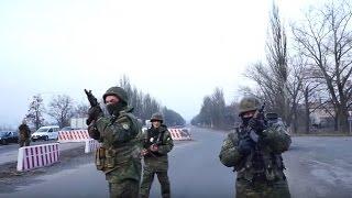 Блокада Донбасса: стрельба на блокпосту и перепалки активистов с полицией