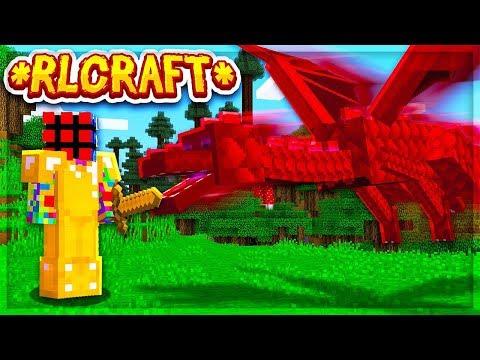 THE HARDEST MINECRAFT MODPACK... | RLCraft Ep 1
