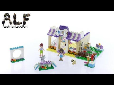 Vidéo LEGO Friends 41124 : La garderie pour chiots de Heartlake City