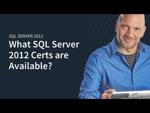 MicroNugget: What are Different SQL Server 2012 Certifications ...