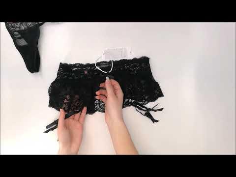 Koketní podvazkový pás 830 - GAR garter belt - Obsessive