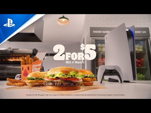 Burger King PS5 sweepstakes starts today in the US