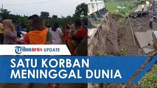 Video Jembatan di Purwakarta Ambruk yang Mengakibatkan 1 Orang Tewas dan 4 Terluka