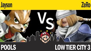 LTC3 Smash4 - JaySon (Fox) vs TSM | ZeRo (Sheik) - Pools