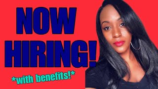 60K Yearly Work From Home Job, Benefits Included!