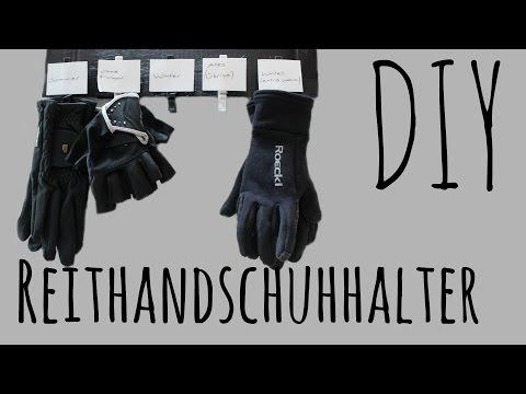 Reithandschuh-aufhänge-Bord [DIY] |horsesociety