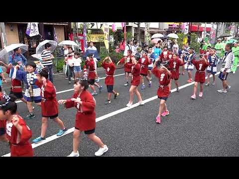 堀切小学校連 堀切かつしか菖蒲まつり2018 流し踊り