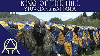 King of the Hill - Vikings and Sturgians vs Battania - Mount and Blade II Bannerlord
