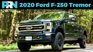 2020 Ford F-250 Super Duty Platinum with the Tremor Off-Road Package