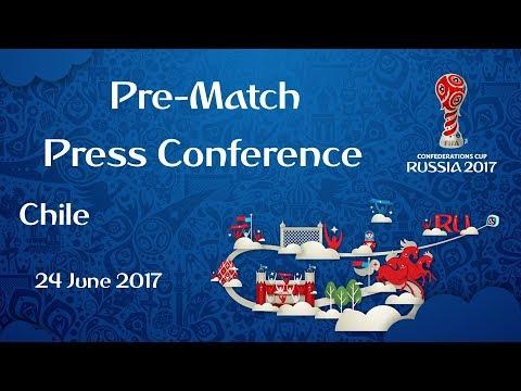 CHI vs. AUS - Chile Pre-Match Press Conference