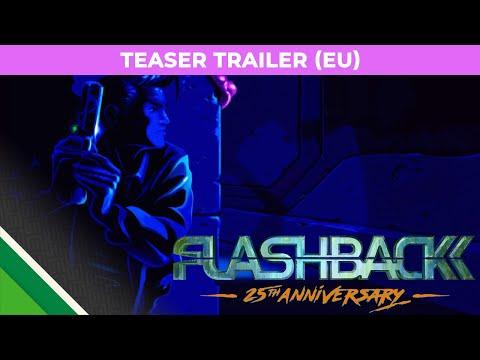 FLASHBACK 25TH ANNIVERSARY - Nintendo Switch - Teaser Trailer thumbnail
