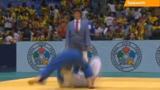 Украинец завоевал бронзу на Чемпионате мира по дзюдо