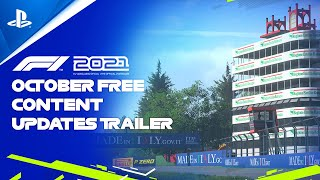 PlayStation F1 2021 - October Free Content   PS5, PS4 anuncio