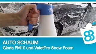 83metoo - Auto Schaum mit Gloria FM10 und ValetPro Snow Foam |Autowäsche Turorial mit Snow Foam