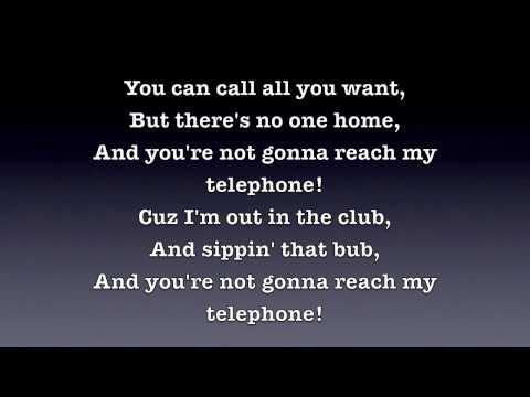Download Telephone - Lady Gaga [Lyrics] HD Mp4 HD Video and MP3