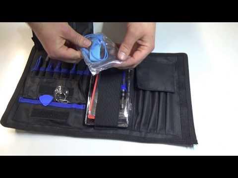 Unboxing Multitool Werkzeugtasche für Feinmechanik / Handy / PC / KFZ
