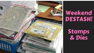 STAMPS & DIES Destash Part 1 CLOSED