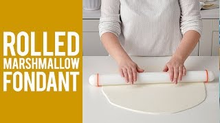 Want to make homemade marshmallow fondant?