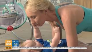 Мама-блог. Выпуск 47 - Совместная гимнастика с малышом
