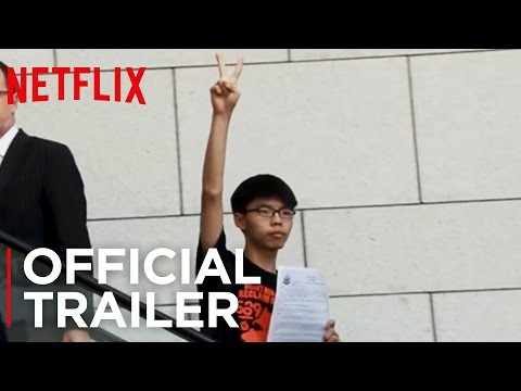 Joshua: Teenager vs. Superpower (2017) | A young activist fights for democracy in Hong Kong (trailer)