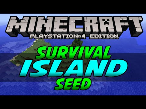 minecraft ps4 survival island seed