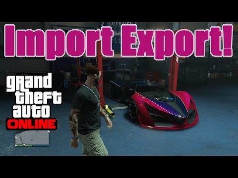 GTA Online Import & Export | Lagerhaus, Showroom und neue Fahrzeuge!!