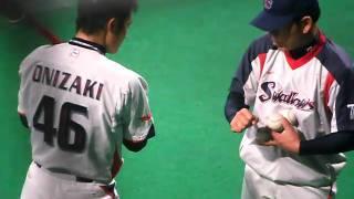 2010/10/2ヤクルト鬼崎トスバッティング練習
