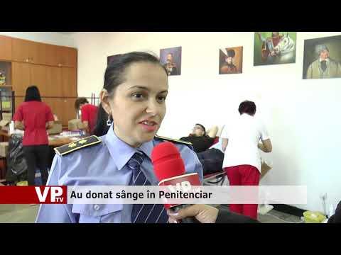 Au donat sânge în Penitenciar