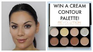CREAM CONTOUR TUTORIAL | Makeup Revolution