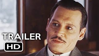 Murder on the Orient Express Official Trailer #2 (2017) Johnny Depp Drama Movie HD